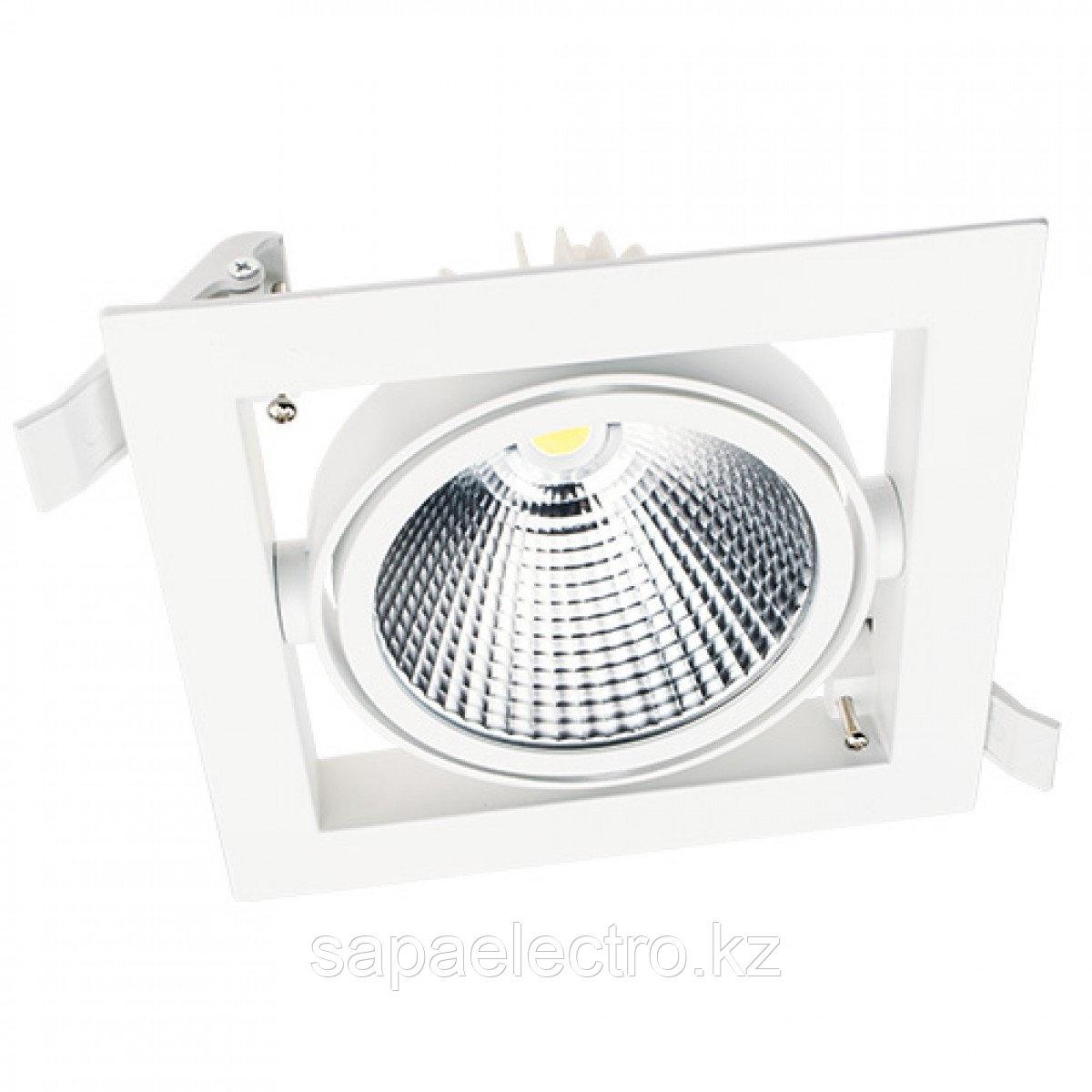 Свет-к DOWNLIGHT LED DL30 30W WH 3000K(TEKSAN)16шт