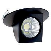 Свет-к DOWNLIGHT LED XB-25 BLACK 5000K(TEKSAN)24шт