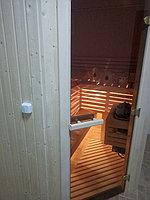 """Сборная финская сауна в частном доме. Индивидуальное изготовление. Размер = 2,0 х 1,5 х 2,1 м. Адрес: г. Алматы, к.г. """" Bella Villa"""". 4"""
