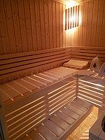 """Сборная финская сауна в частном доме. Индивидуальное изготовление. Размер = 2,0 х 1,5 х 2,1 м. Адрес: г. Алматы, к.г. """" Bella Villa"""". 6"""