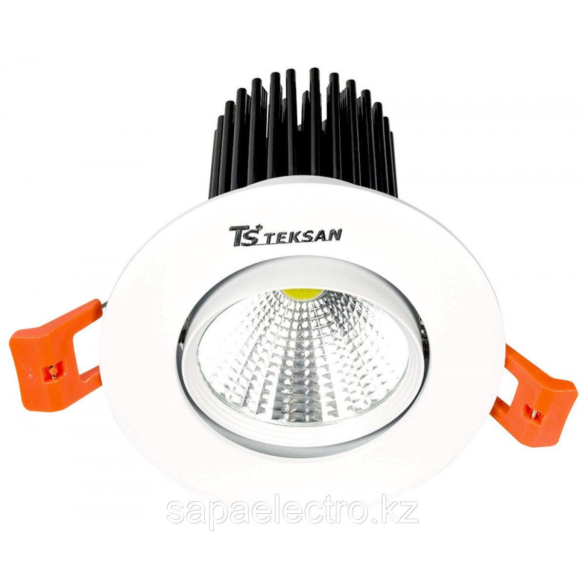 Свет-к DOWNLIGHT LED 2527B 10W WHITE 5000K(TS)50шт