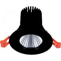 Свет-к DOWNLIGHT LED 2527B 10W BLACK 5000K(TS)50шт