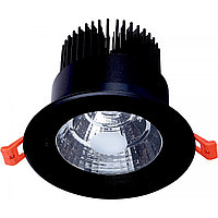 Свет-к DOWNLIGHT LED 427B 20W BLACK 5000K(TS)50шт