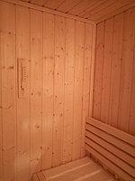 """Сборная финская сауна в частном доме. Индивидуальное изготовление. Размер = 2,0 х 1,5 х 2,1 м. Адрес: г. Алматы, к.г. """" Bella Villa"""". 14"""