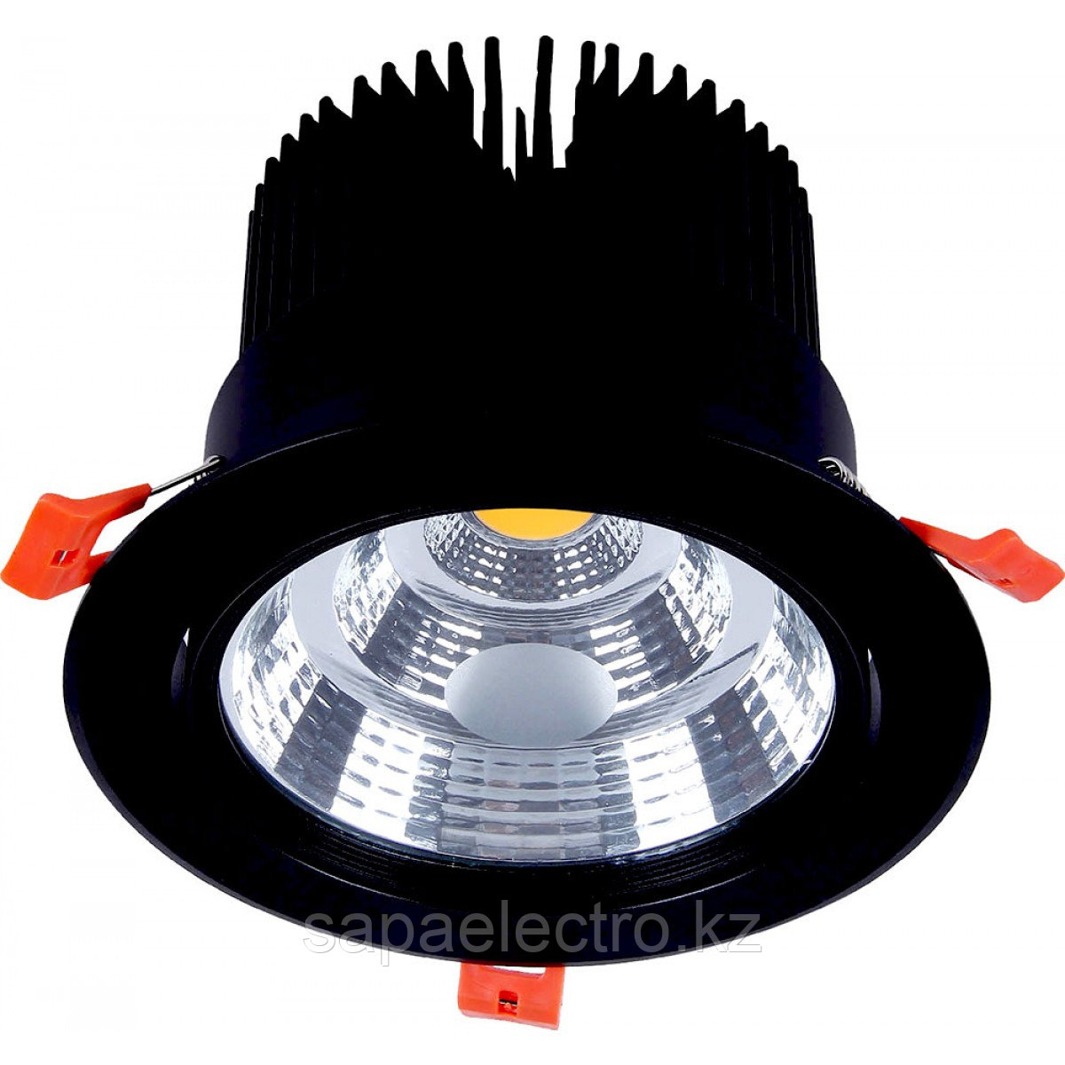 Свет-к DOWNLIGHT LED 627B 30W BLACK 5000K (TS)20шт
