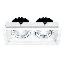 Свет-к DOWNLIGHT LED RS-2114C-2 2х20W 5700K(TS)9шт