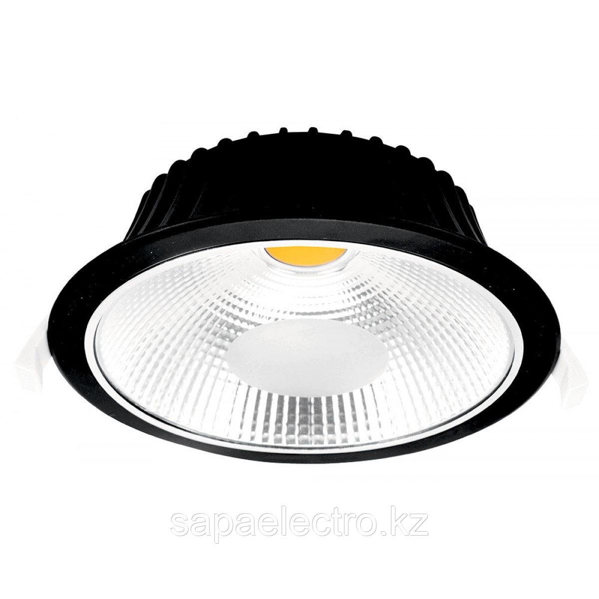 Свет-к DOWNLIGHT LED VESTACOB10W BLACK 5000K(TS)50