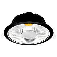 Свет-к DOWNLIGHT LED VESTACOB20W BLACK 5000K(TS)28