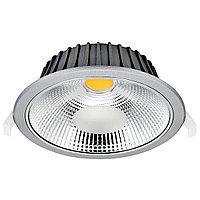 Свет-к DOWNLIGHT LED VESTACOB30W SILVER5000K(TS)16