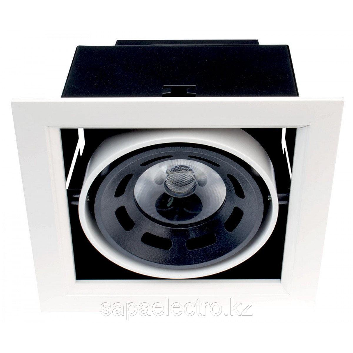 Свет-к DOWNLIGHT LED DD119 8W BLACK 5000K (TS)27
