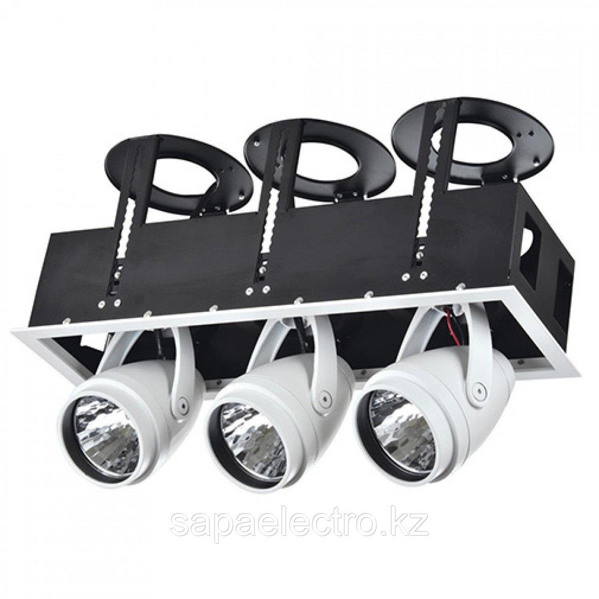Свет-к DOWNLIGHT LED DK884-3 3х30W WH 5700K (TS)4