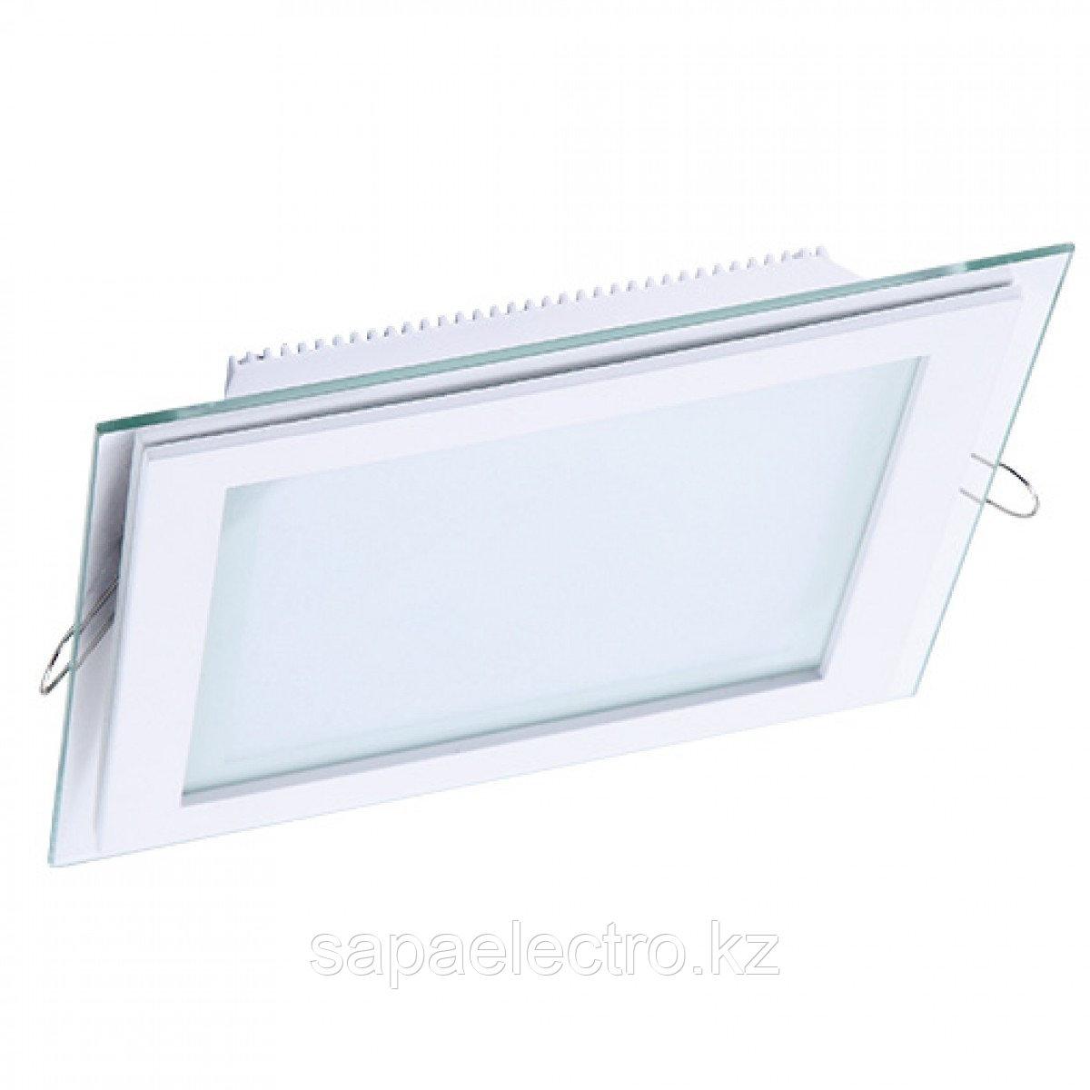 Свет-к DL LED GLASS KVADRO PANEL12W 6000K (TS) 40шт