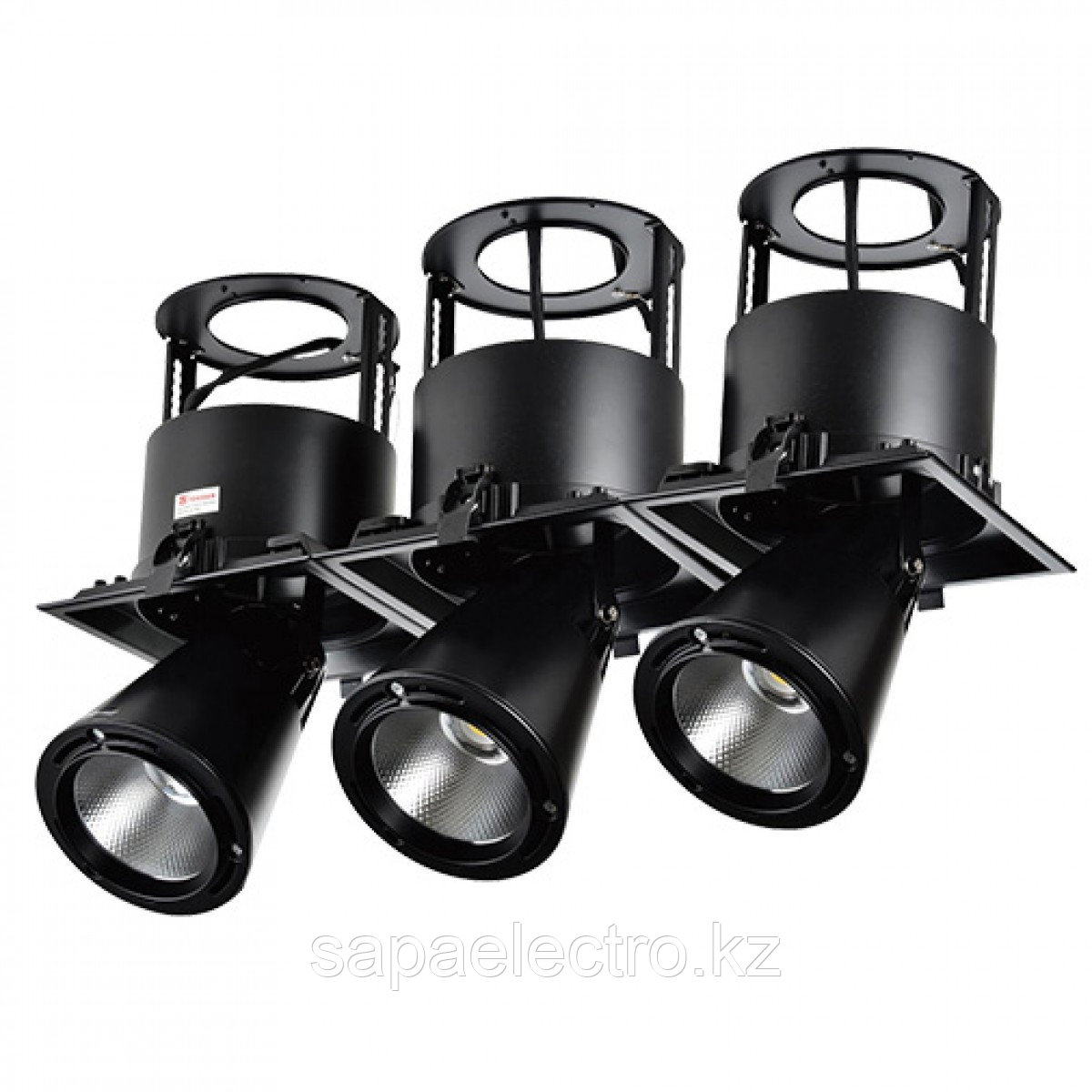 Св-к DOWNLIGHT LED LS-DK911-3 3X40W 5700K BLACK(TS)