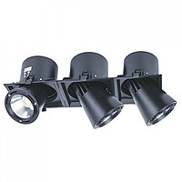 Свет-к DL LED LS-DK913-3 3x40W BLACK 5700K(TS)4шт