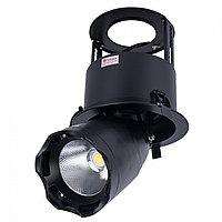 Свет-к LED LS-DK909 40W 5700K BLACK (TS)8шт