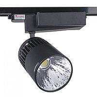 Св-к. LED DK882 30W 5700K BLACK TRACK (TS) 12шт