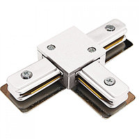 WHITE STANDART T-CONNECTOR (2 LINE) (TS)100шт