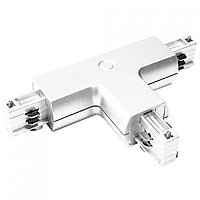 WHITE T-CONNECTOR (4 LINE) (TS)50шт