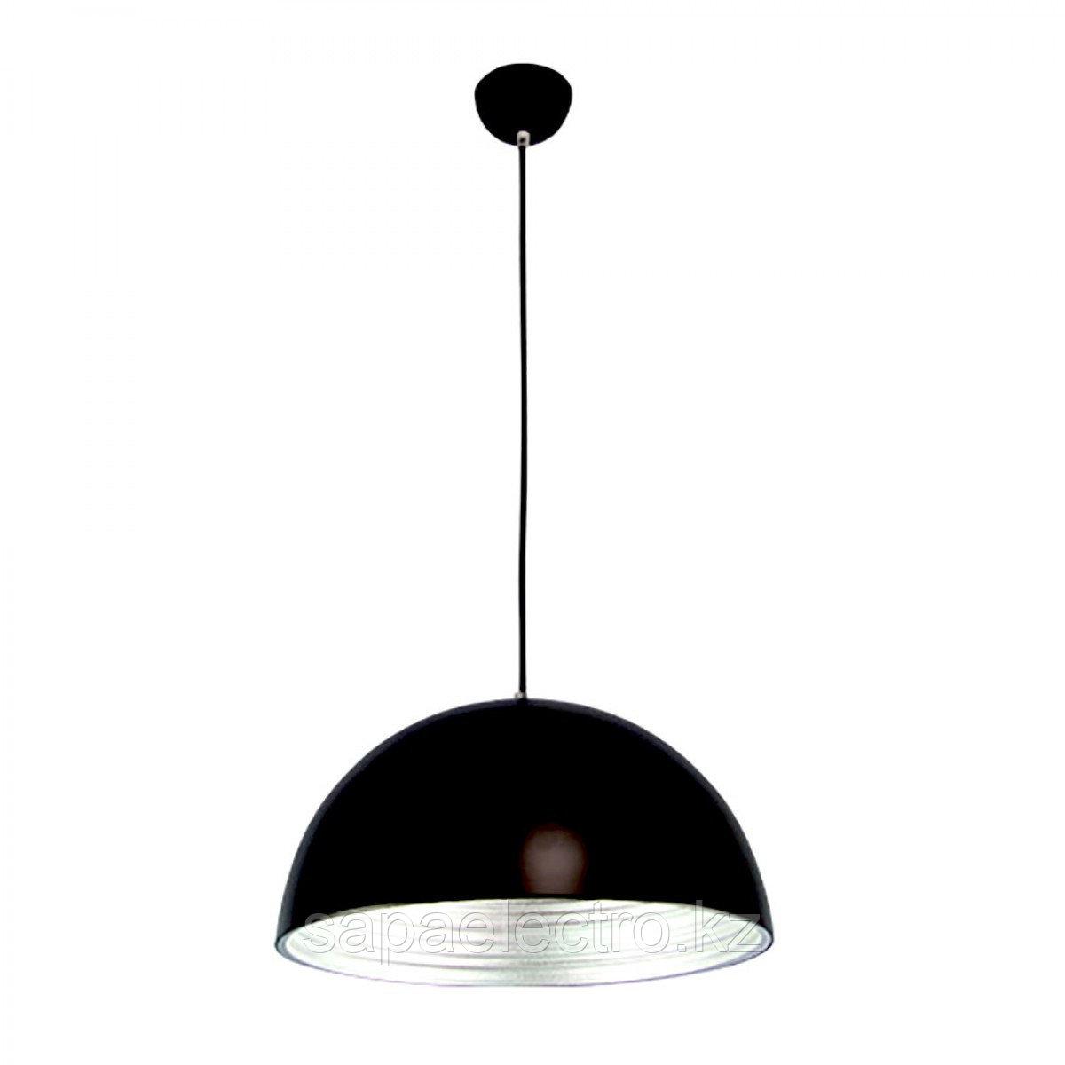 Свет-к SL015 BLACK+SILVER E27 100W  (TEKSAN) 5шт