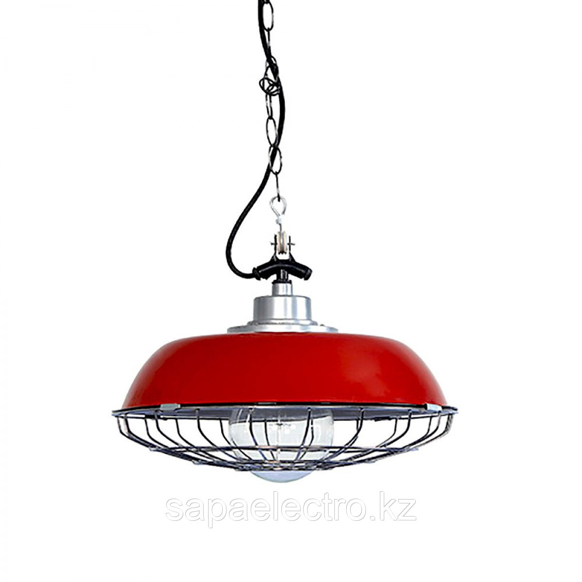 Свет-к FC-1030 E27 100W RED (TEKSAN) 6шт