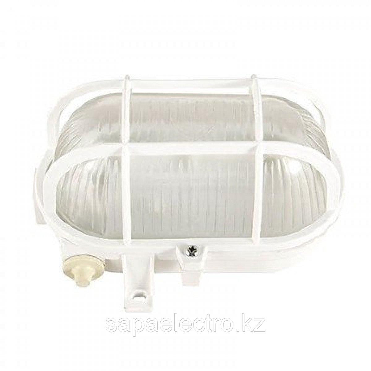 Свет-к L5018 E27 60W WHITE с пласт.решет. (MS)10шт