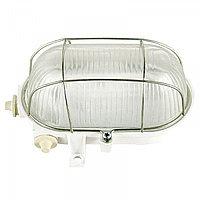 Свет-к L5017 E27 60W WHITE с решеткой  (MS)10шт