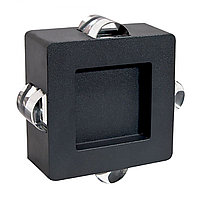 Свет-к LED C0159  4X1W  DARK GREY(TS)12шт