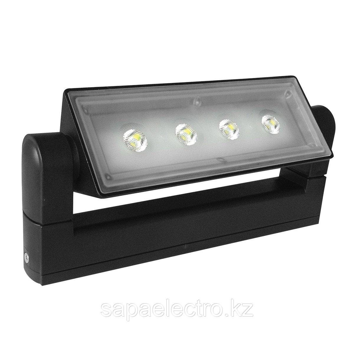 Свет-к LED 3229 12W BLACK 4000K IP54  (TEKSAN) 12шт