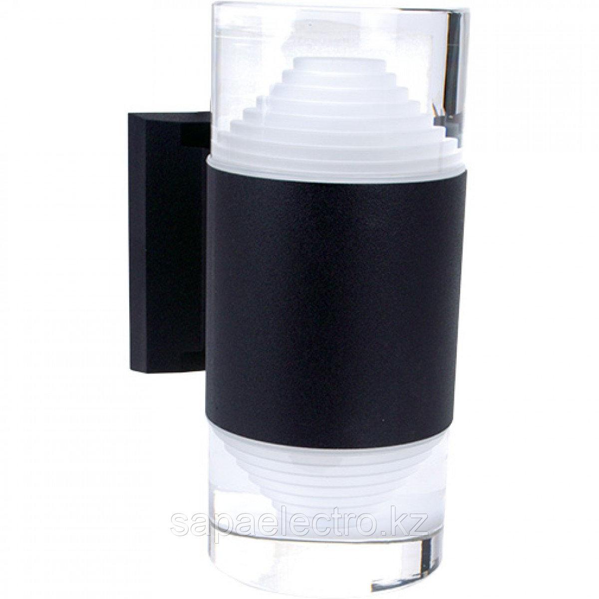 Свет-к LED  B2168 2*5W Black 4000K  (TS) 10шт