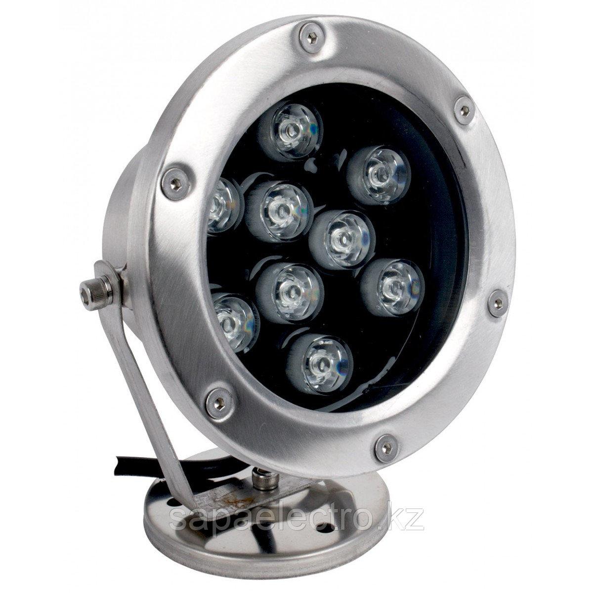 Подв.прожектор LED F6008 9W RGB-DMX  IP68 (TS)12шт