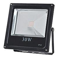 Прожектор LED FD1003 30W RGB BLACK IP65 (TS)10шт