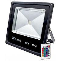 Прожектор LED FD1005 50W RGB BLACK IP65  (TS) 6шт,1