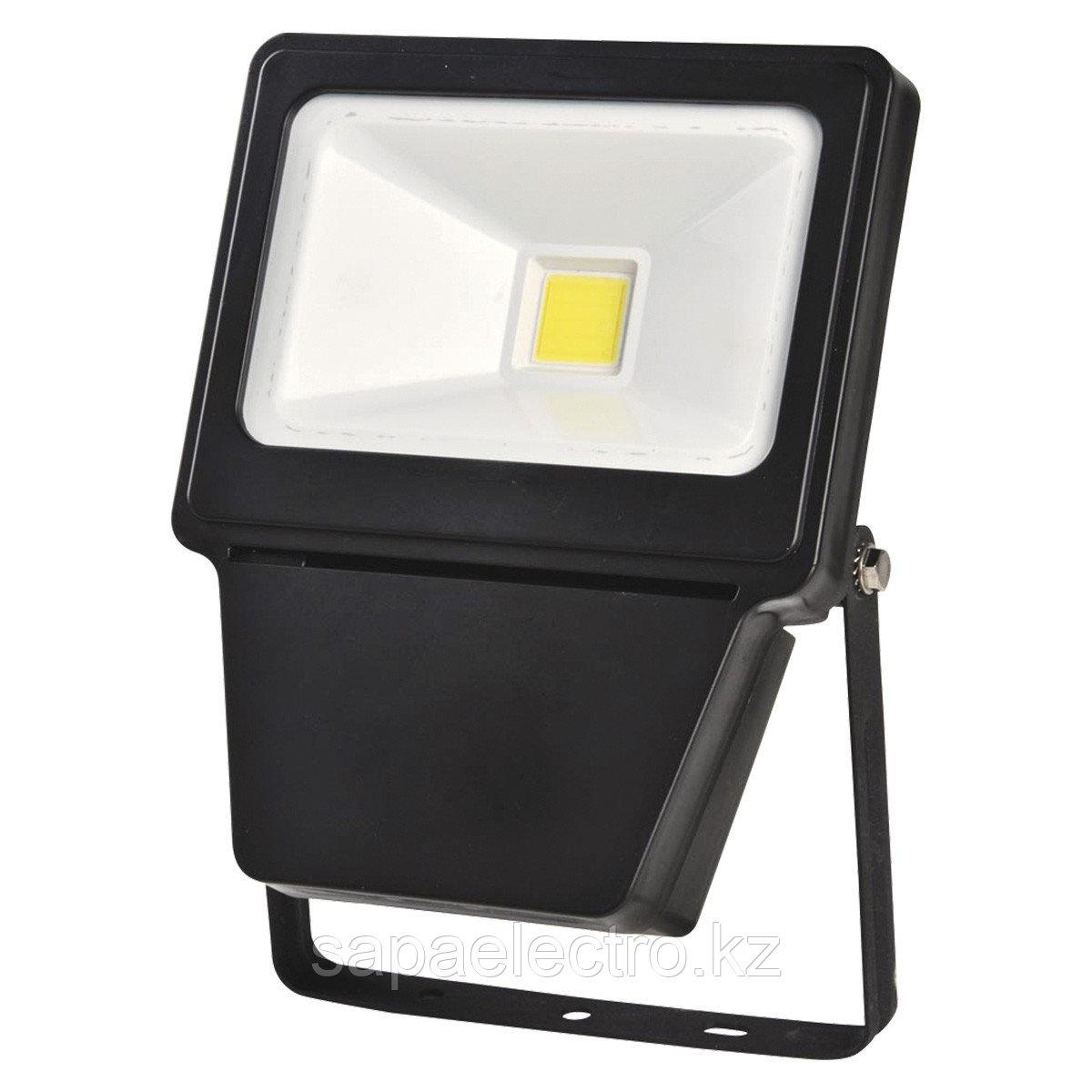 Прожектор LED COB 30W BLACK 6000K  (TS)24шт
