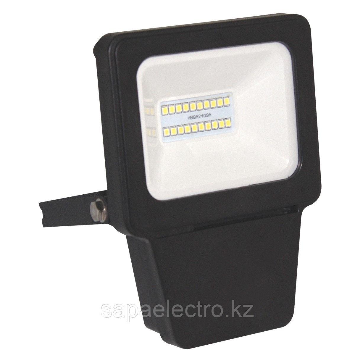 Прожектор LED SMD 10W BLACK 6000K  (TS)36шт