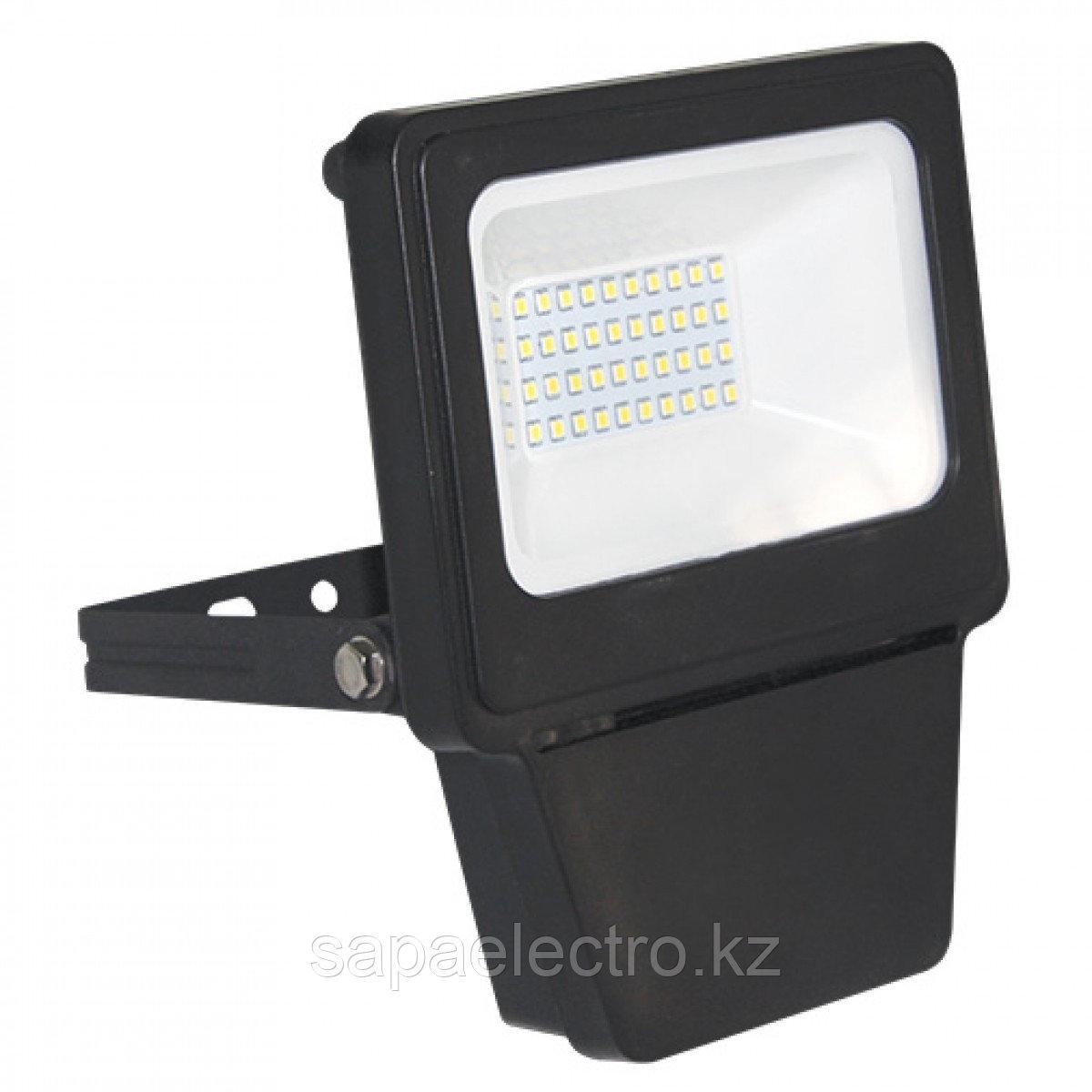 Прожектор LED SMD 20W BLACK 6000K  (TS)28шт