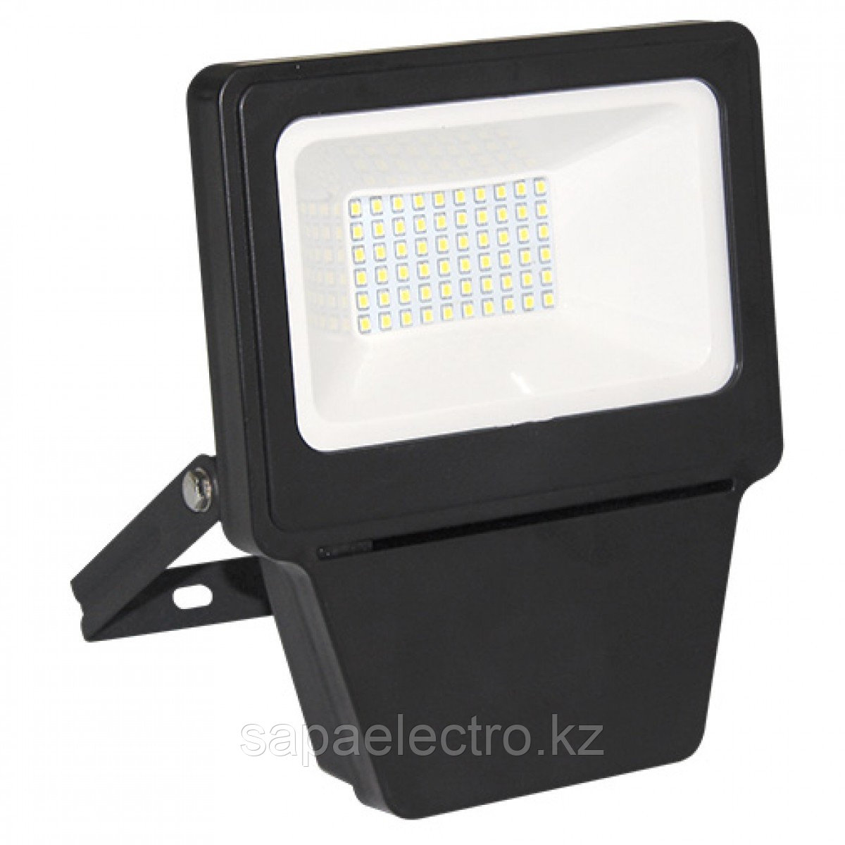 Прожектор LED SMD 30W BLACK 6000K  (TS)24шт