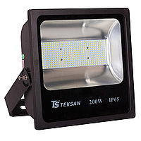 Прожектор LED SMD 200W BLACK 6000K  (TS)20шт