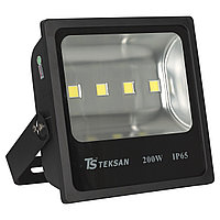 Прожектор LED TS200 200W 6000K BLACK (TS)1шт