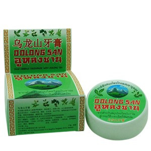 Тайская зубная паста с экстактом Чая Улун Oolong San Thai Herbal Toothpaste With Oolong Tea