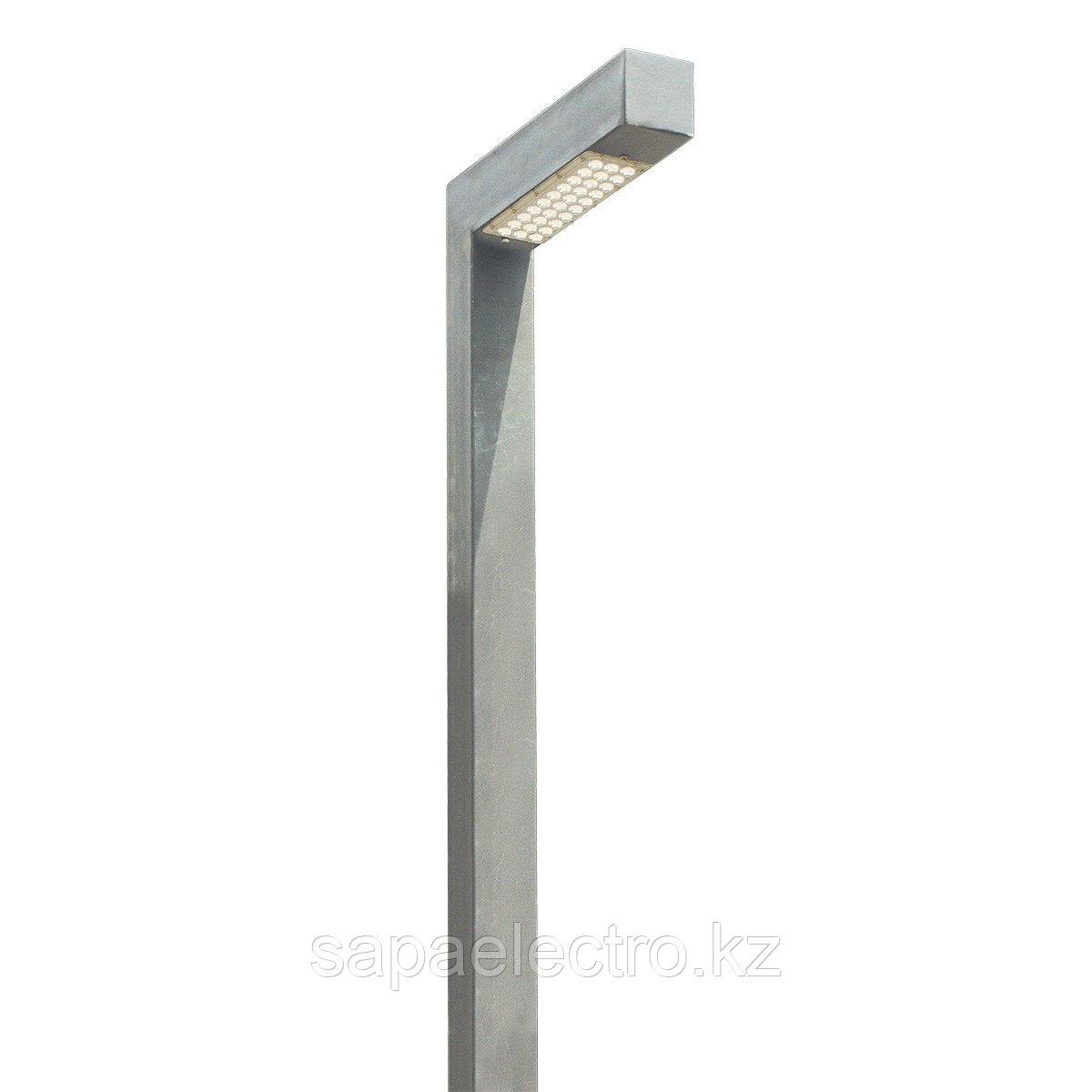 Св-к Профильный LED 30W 80х80 GREY  H-4м MEGALUX 1ш