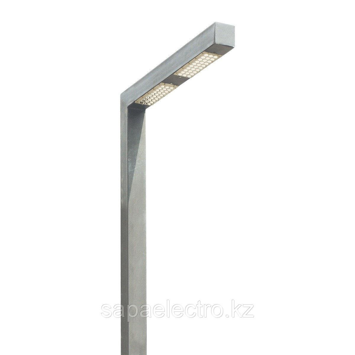 Св-к Профильный LED 60W 80х80 GREY H-5м MEGALUX 1шт