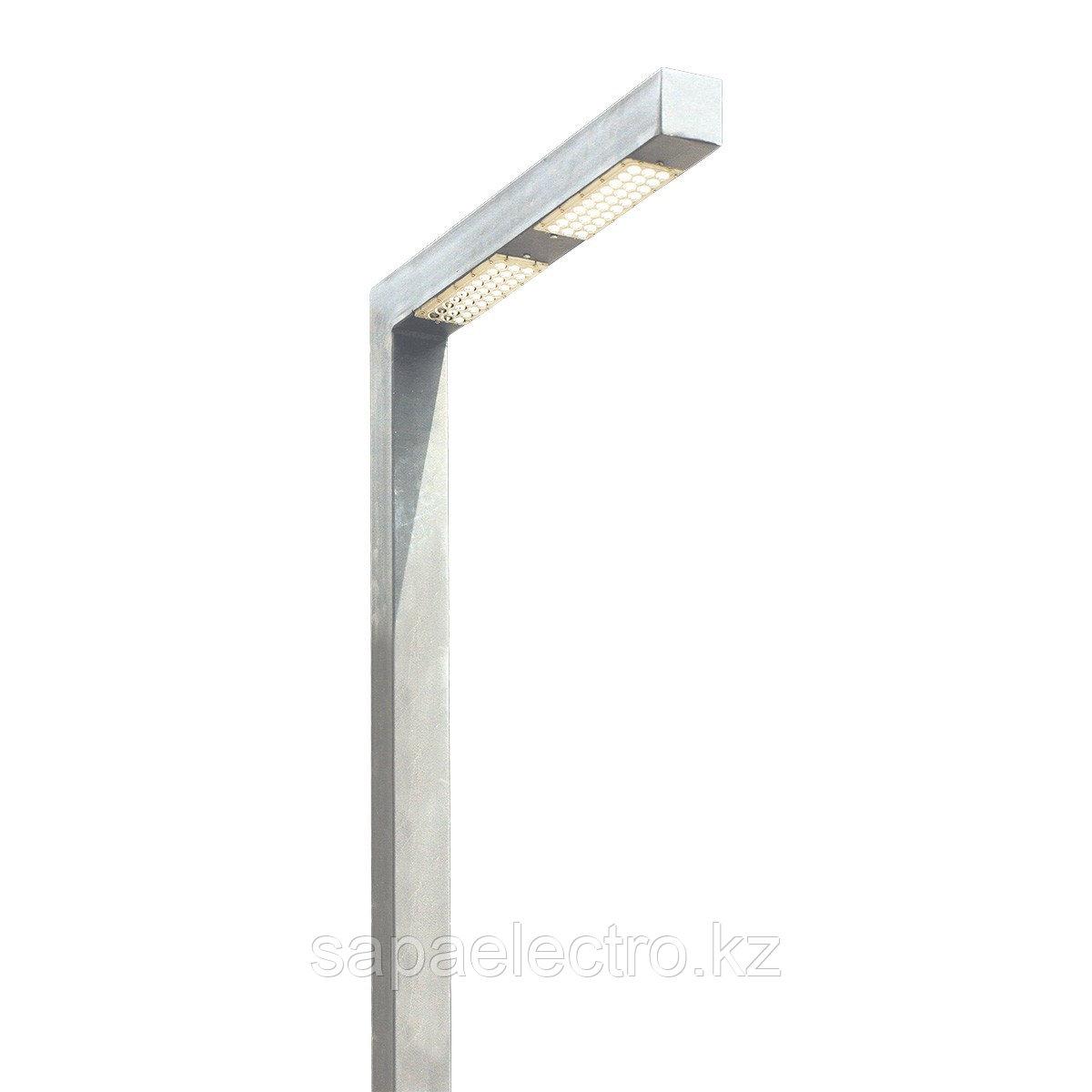 Св-к Профильный LED 60W 80х80 LIGHT GREY H-5м MEGAL