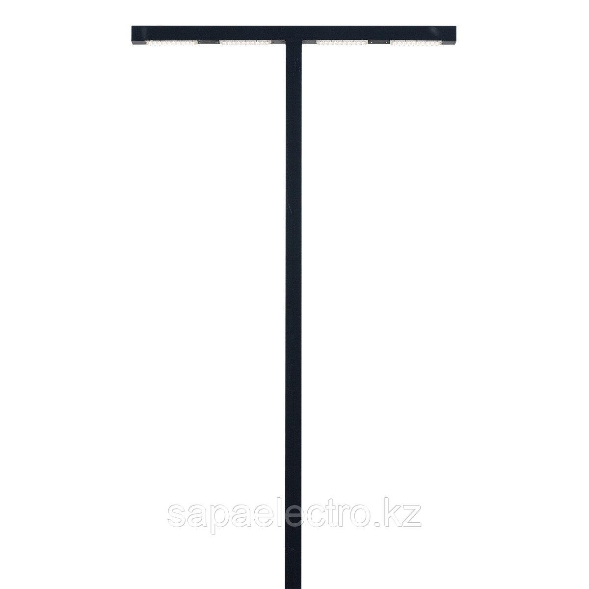 Св-к Профильный LED T-образный 120W 80х80 BLACK H-5