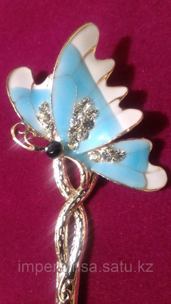 """Японская палочка-шпилька для волос""""Голубая бабочка"""""""