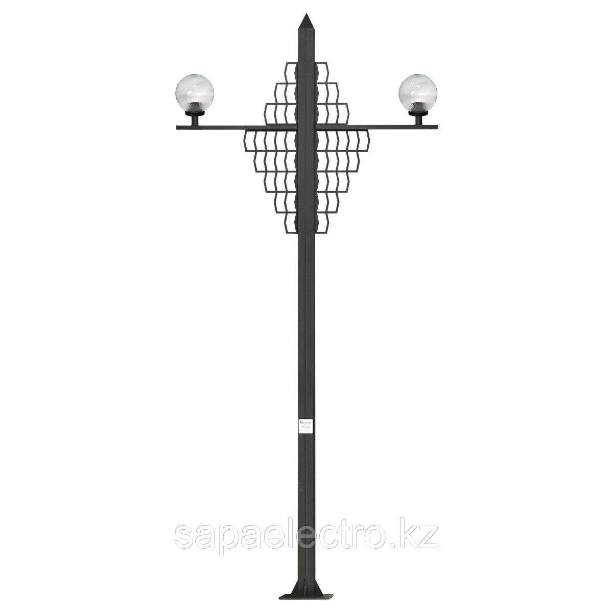 СТОЛБ DEKORATIF WALL H-4м 80x80 MGL