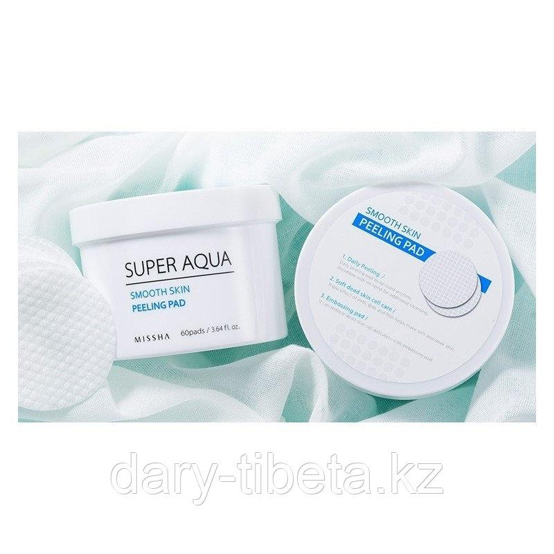 MISSHA Super Aqua Smooth Skin Peeling Pad- пилинг-диски с кислотами