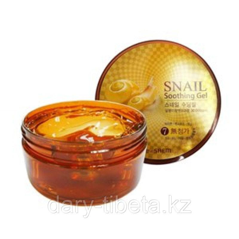 The Saem Snail Soothing Gel - Улиточный многофункциональный гель для тела и лица 300мл.
