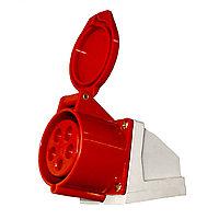 Настен.роз32A 380-415V 3P+N+E(5X32A) /125 RED(60шт