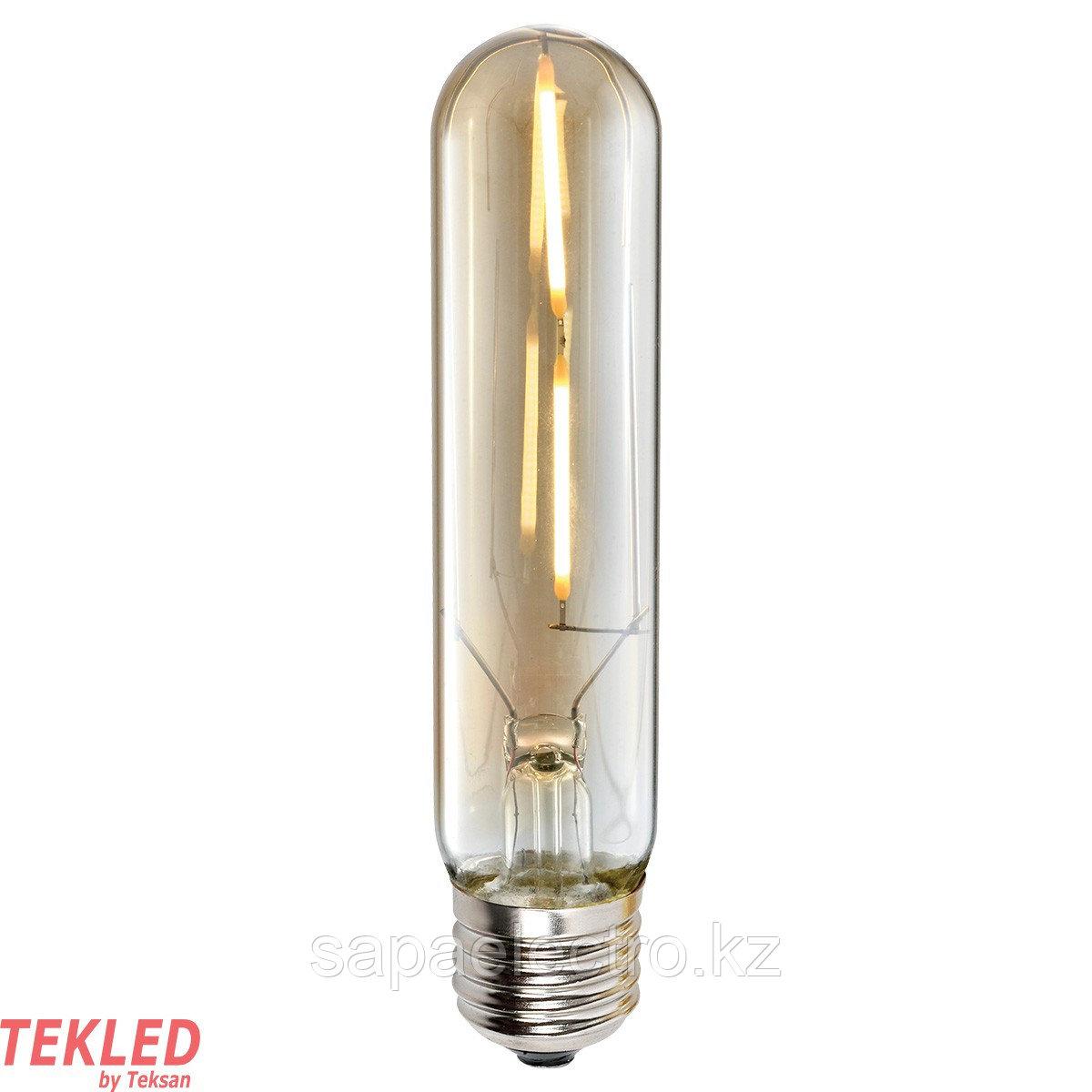 Лампа LED T125 4W AMBER E27 2700K 220V (TL)100шт