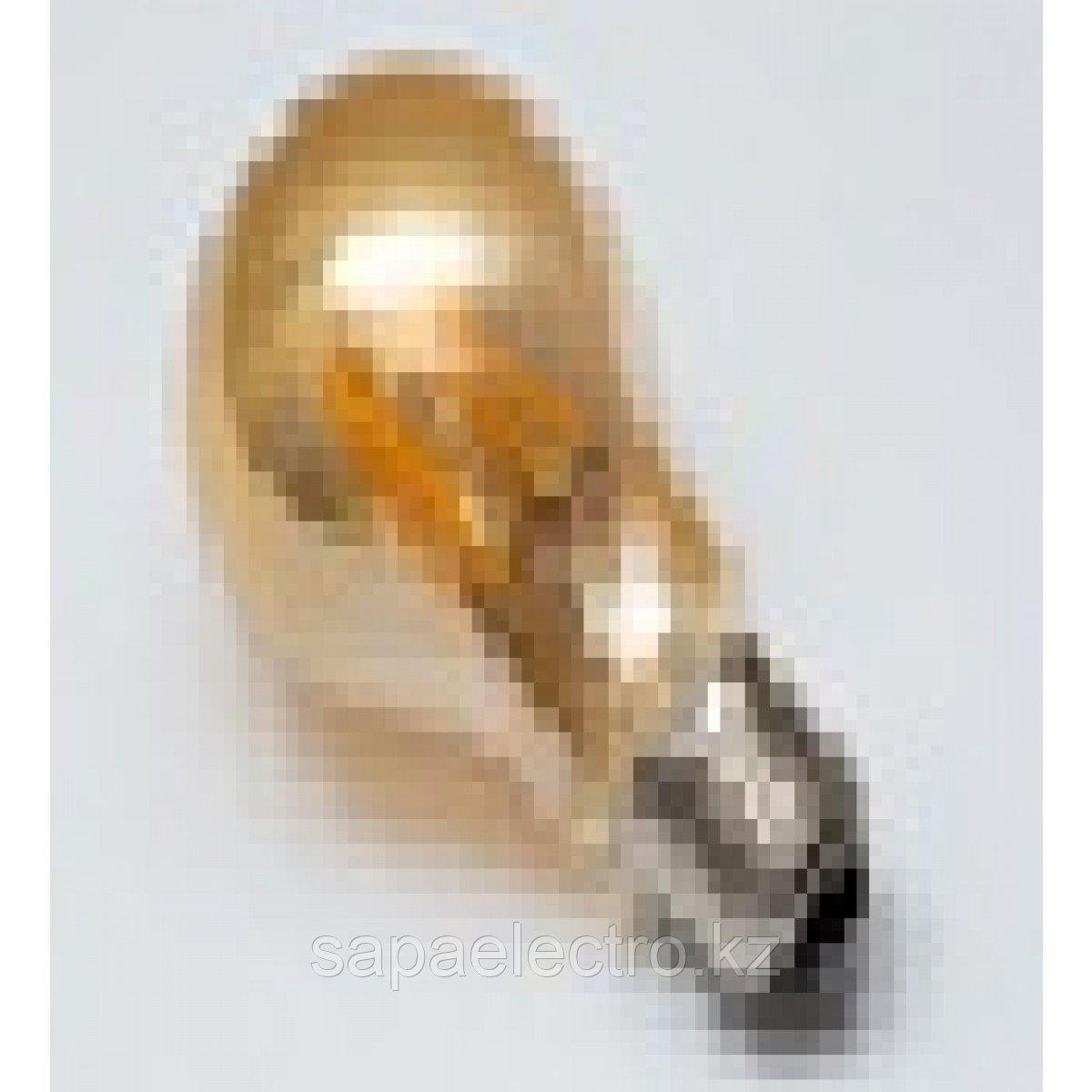Лампа LED A60 4W AMBER E27 2700K 220V (TL)100шт